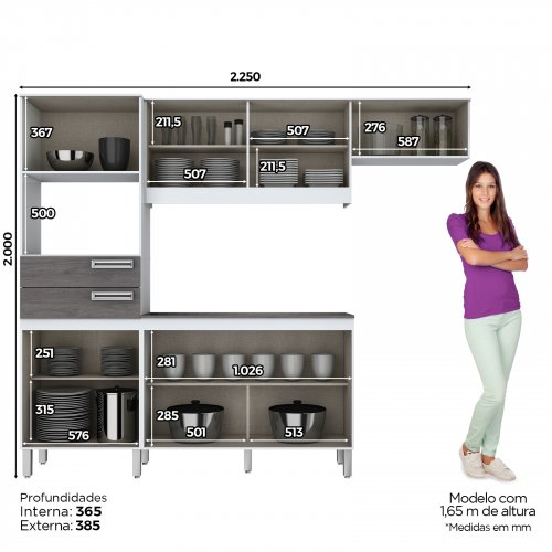 COMPACT KITCHEN KIT B107